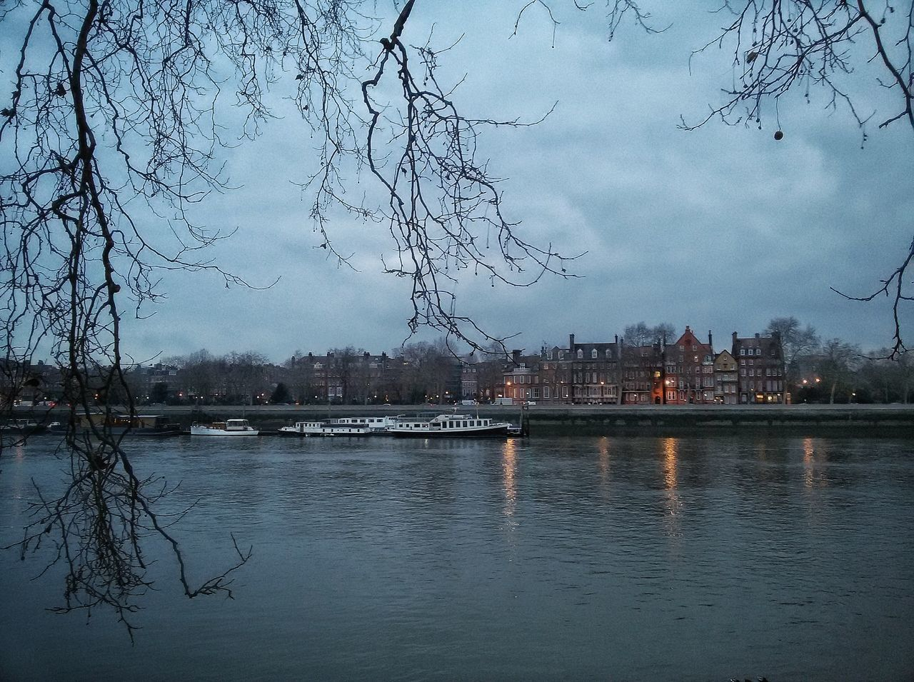 """""""Blue Friday"""". Reflection Sky Water No People Nature Outdoors Tree Cloud - Sky Scenics Animal Themes City Day Large Group Of Animals Shootermag Nature London Lifestyle River Thames River Collection Watter_collection Thames River London Nature_collection Tranquil Scene Tree Beauty In Nature"""