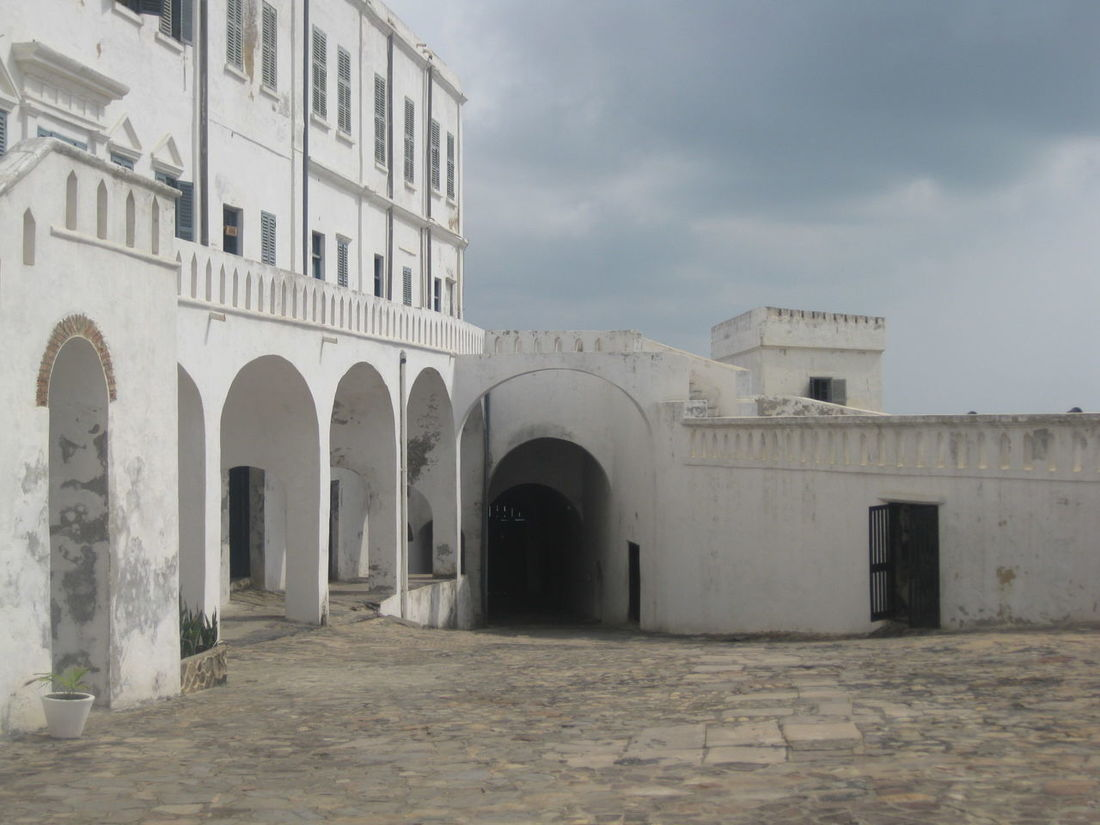 Arch Architecture Building Built Structure Cape Coast Cape Coast Castle Ghana Historic History No People Slavery The Past