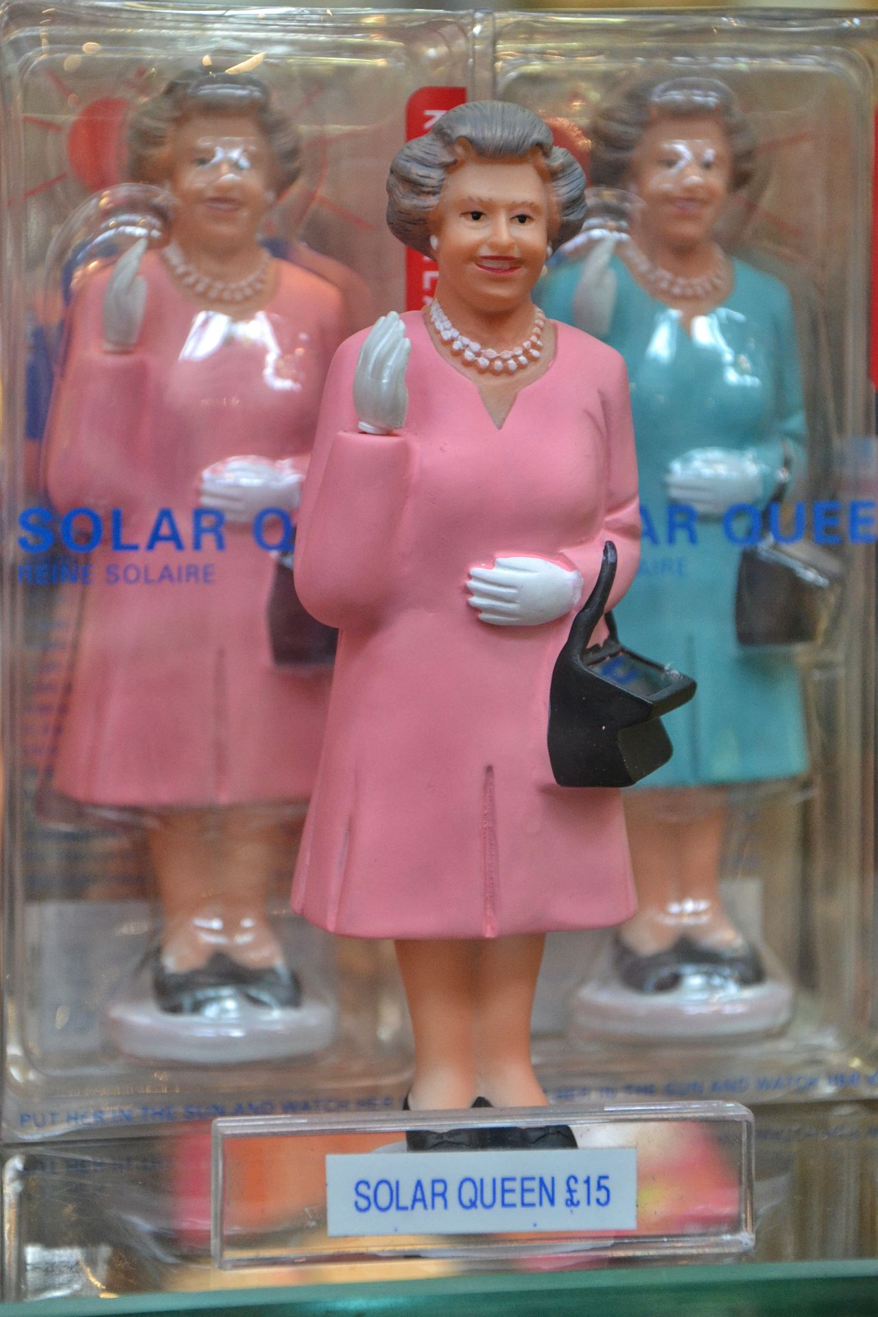 Retail  Store Business Adults Only Standing One Person Symbol Of London London Lifestyle England, UK London Traditional Culture Monarchy Queen Elizabeth  Prize Hallo Solar Queen