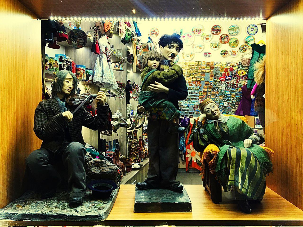 How it could be... Chaplin Charliechaplin Tbilisi Marionette Georgia Leselidze Street