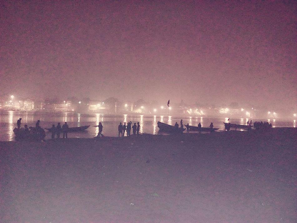 First Eyeem Photo EyeEmNewHere Long Goodbye Welcome To Blackh Hello World Architecture Scenery Ganga River Ganga Ghat Night View Ganga Puja_prepartion Varanasi, India Ganges, Indian Lifestyle And Culture, Bathing In The Ganges, Varanasi Ganges Varanasi Ghats
