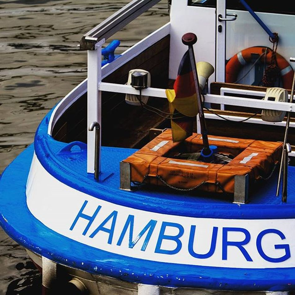 Hamburg ❤ Harbour City Town Hamburg Igershamburg Igersgermany Instahamburg Boat Water Sky Clouds Hamburgmeineperle Fishing Fish Blue Intotheblue  Hamburg_de Meineperle Germany Town Water Hh Traveling Travel