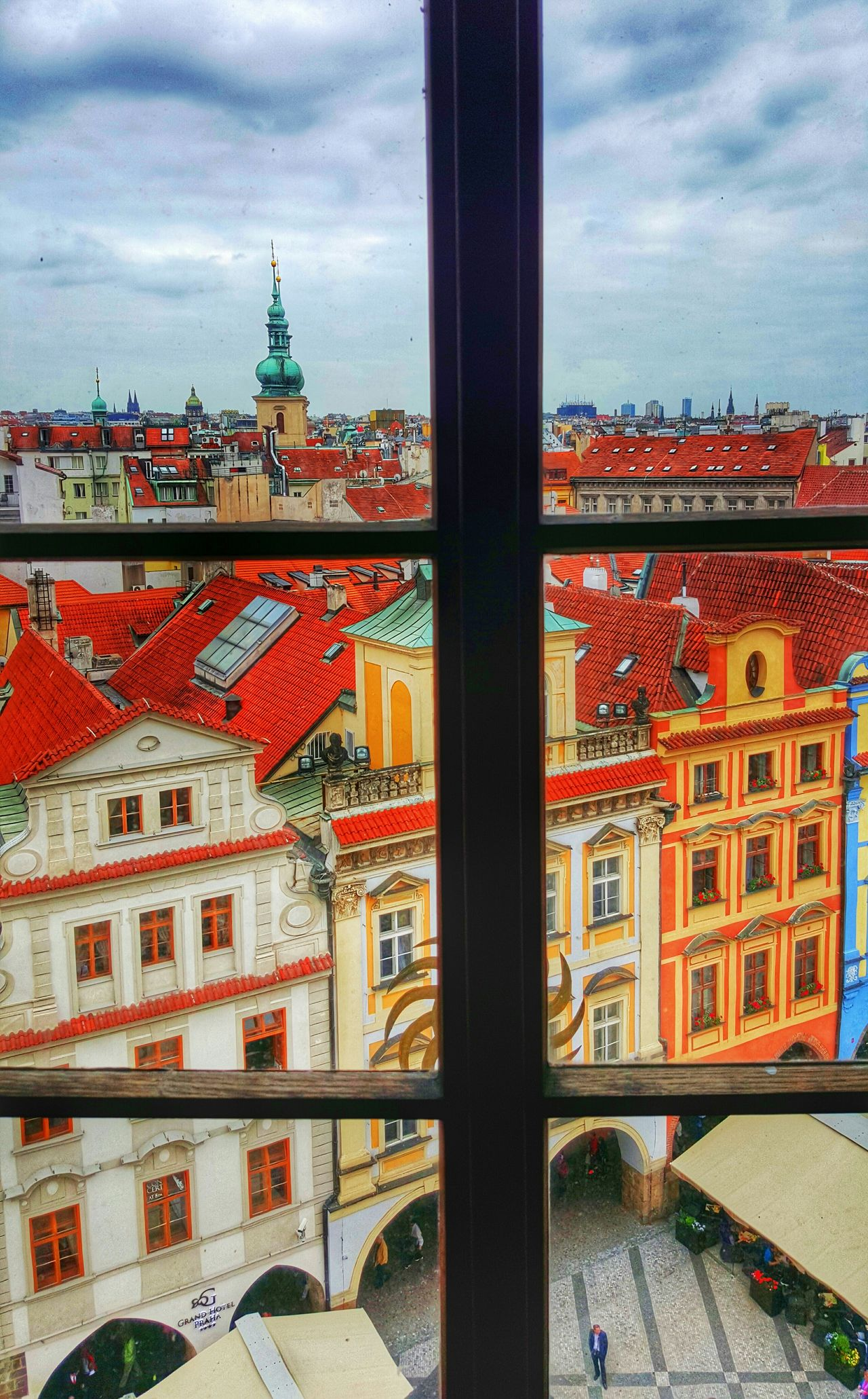 Prague Looking To The Other Side Windows Taking Photos The Traveler - 2015 EyeEm Awards Travel Perspectives Lonely Objects Living Bold Capturing Movement