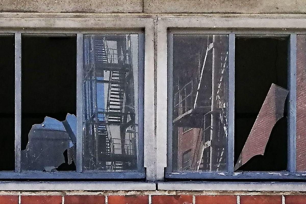 Aarhus, Denmark Aarhus2017 Abandoned Architecture Building Exterior Built Structure Close-up Day No People Reflections In The Glass Windows Window