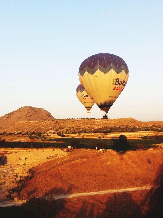 Balloon Montgolfière  Turquie Cappadocia Amazing View Amazing Experience Sensations On The Sky ❤️🌞 Horizon