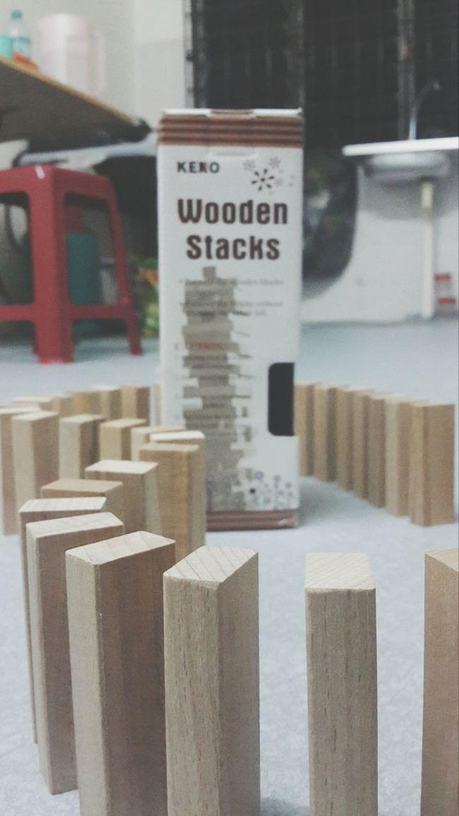 Relaxing Enjoythegame Woodenstacks