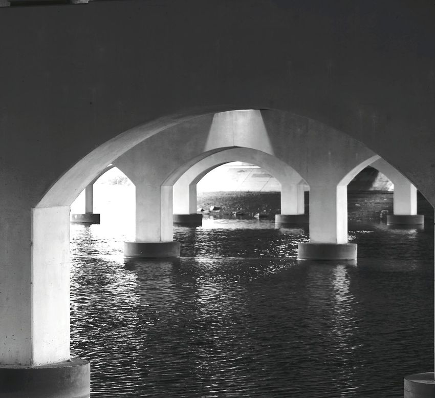 Black & White Taking Pictures Under The Bridge Bridge Collection Minnesota From Where I Stand