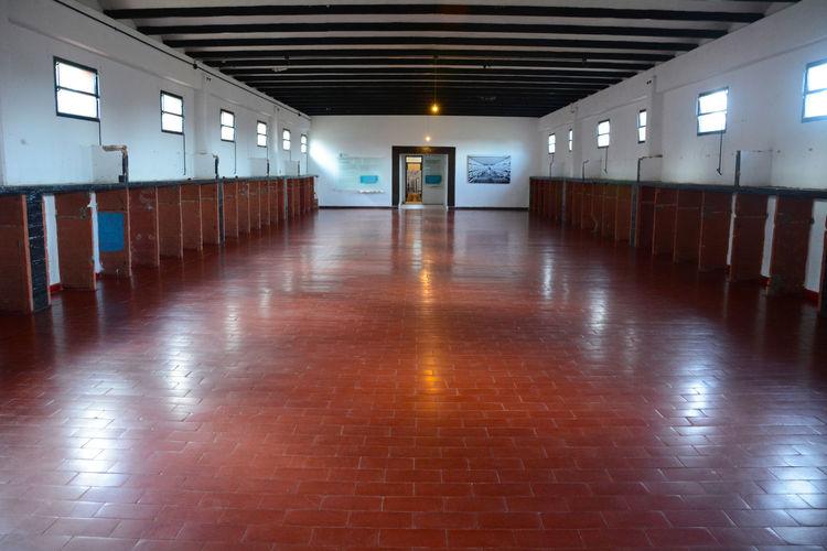 Detention Center Ceiling Center Cladestine Centro Historico Clandestine Cordobaargentina Corridor Desparecidos Detencio Disappeared Disappeared Pla Empty La Perla
