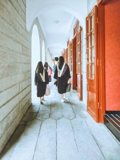At University Campus On Campus Campus Life Graduation Graduation Dress Graduation Season University