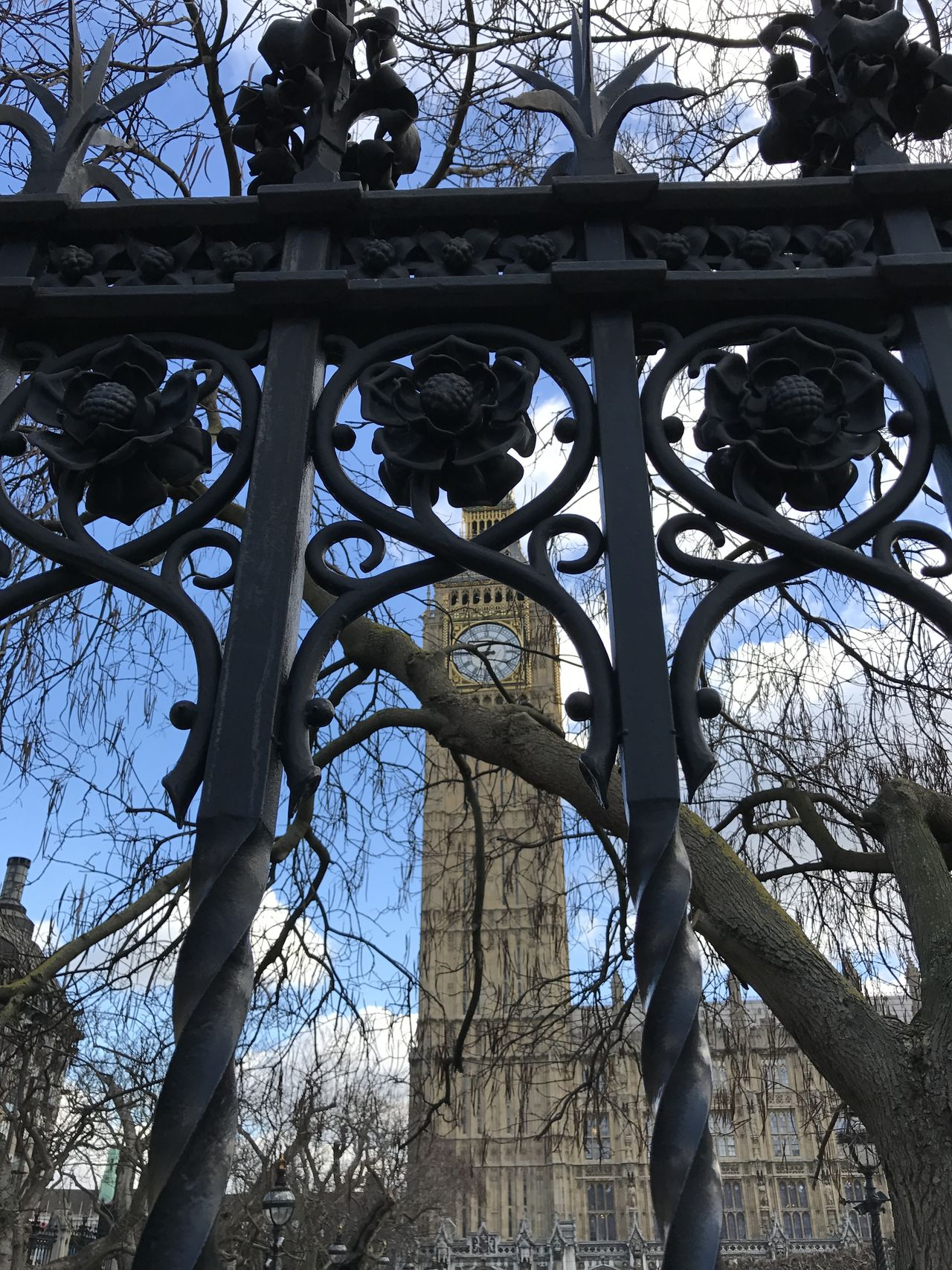 Architecture Bare Tree Big Ben Branch Day London Low Angle View Nature No People Outdoors Sky Tree United Kingdom