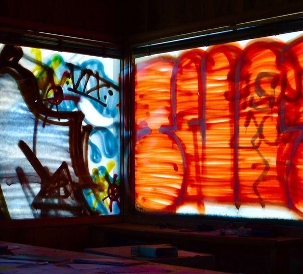 Graffiti Art Architecture Building Exterior Creativity Multi Colored Day No People