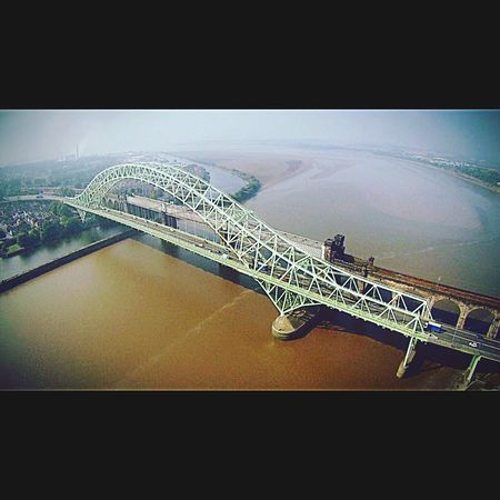 Flying High Runcorn Bridge