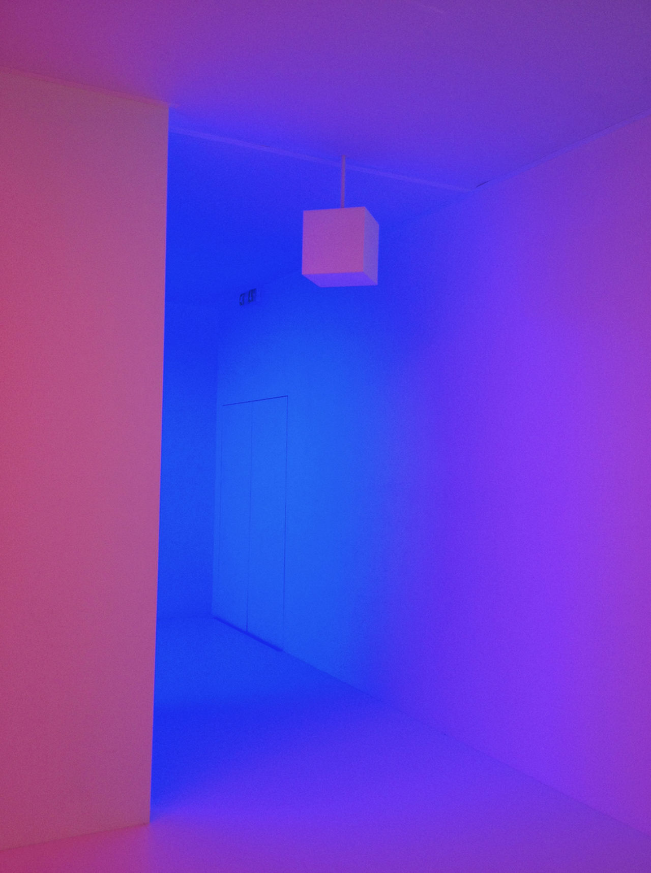 Abstract Art Backgrounds Blue Blue And Pink Blueyes Bright Blue Sky Bright Colours Built Structure Close-up Cool Color Cool Colors Cool Colours Door Electricity  Indoors  Light Light And Shadow Light Sculpture Light Show Lil Mauritius No People Pink Color Pinky Blue