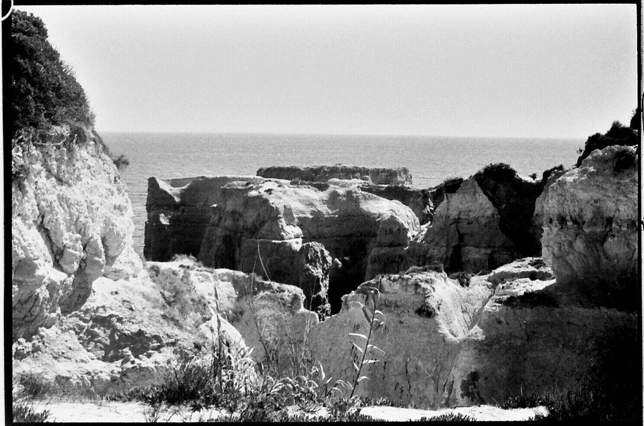 1980s Sea Rock - Object Rock Formation Beauty In Nature Tranquil Scene Nikon FE Koduckgirl Portugal