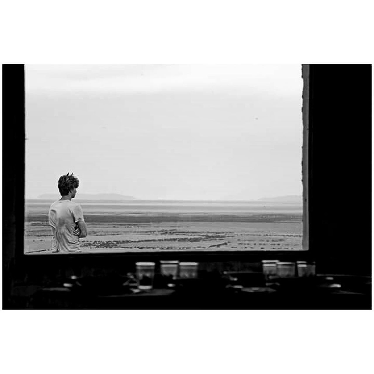 Germanboy Window Blackandwhite Bolivia Uyuni Bolivia Salthotel Nostalgic