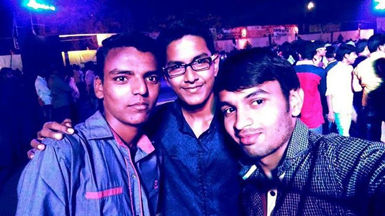 Dandiya Festival Season  Friends Njoy Ganapati Dance @N3_chhatrapati_college Thanks_for_the_passes_Rohit Enjoyed_alot