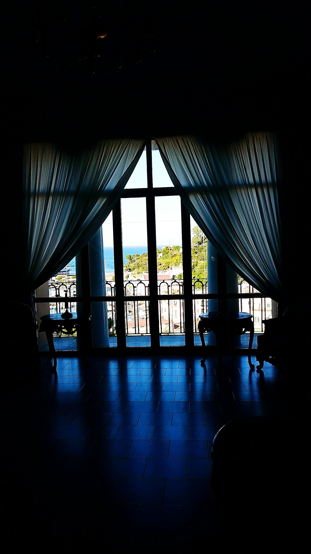 Indoors  Architecture Built Structure No People Fishermancottage Ischia Palace Royalpalace Sea Sea And Sky Seaside Room With A View Roomwithaview Roomview Room Lights Bayview Seaside_collection Sea_collection Sea View BlackWidow Lights And Shadows Light In The Darkness Light And Shadow Bridge - Man Made Structure Decoration