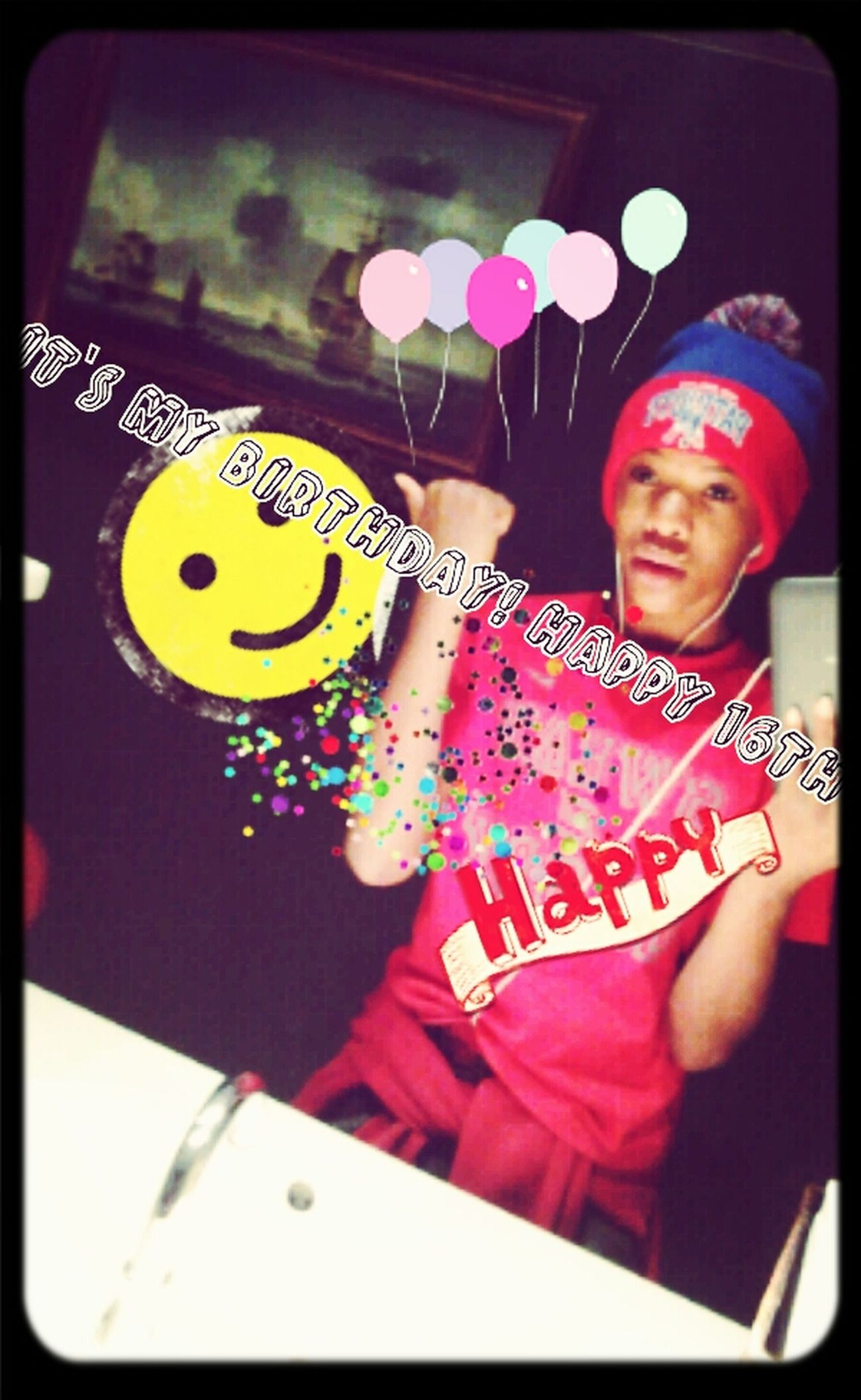 it's my birthday! happy 16th