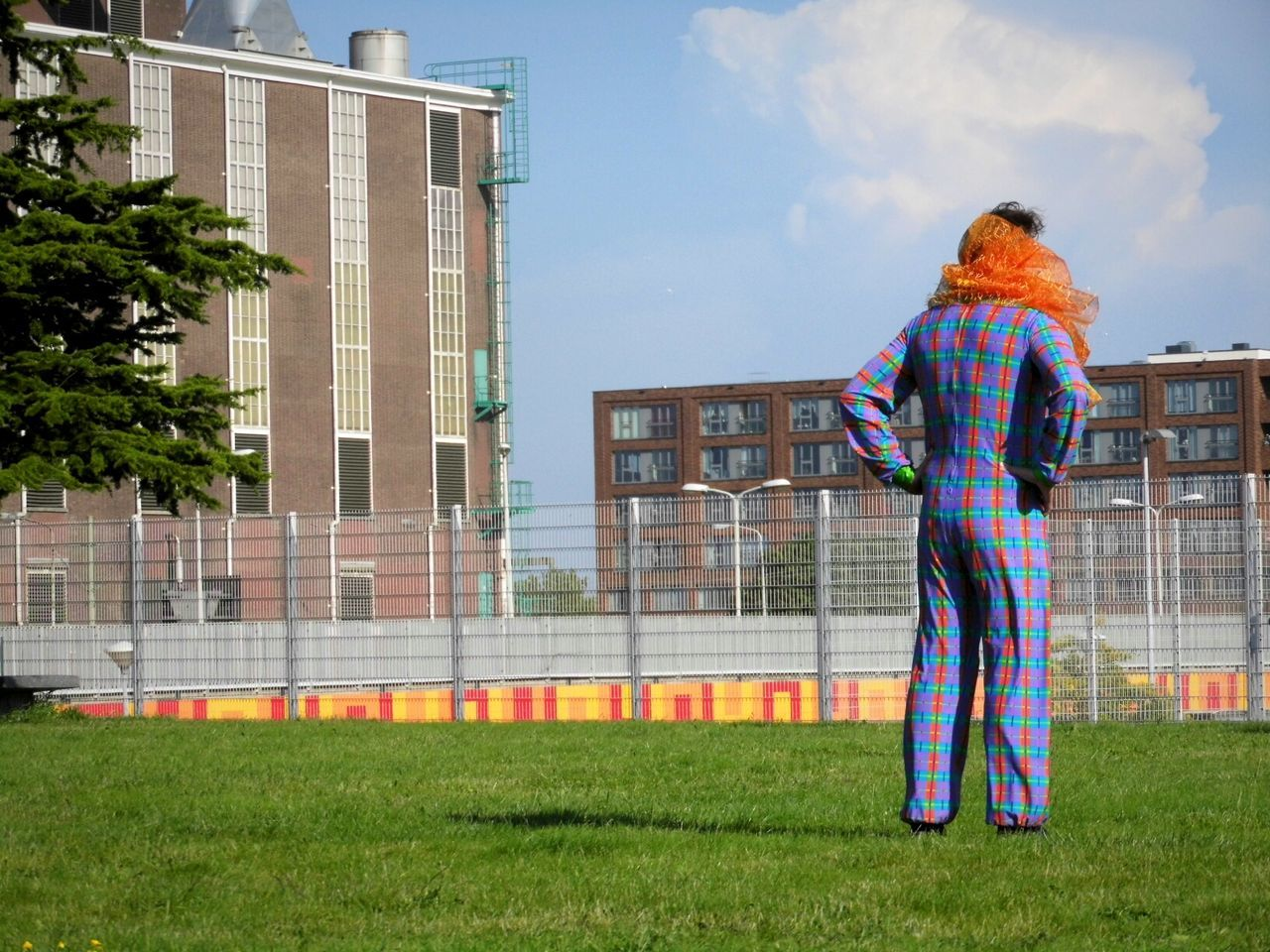 Beautiful stock photos of clown, building exterior, architecture, real people, full length