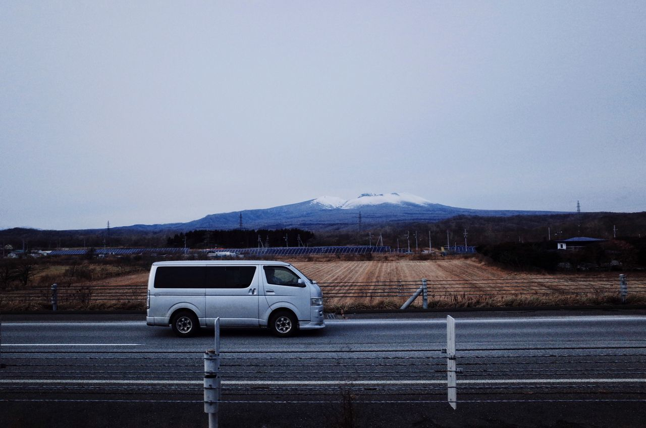On the traveling way My Street Photography From My Point Of View My Year My View Sapporo Transportation Road Landscape No People Mountain Outdoors Nature Sky On The Way EyeEm Best Shots