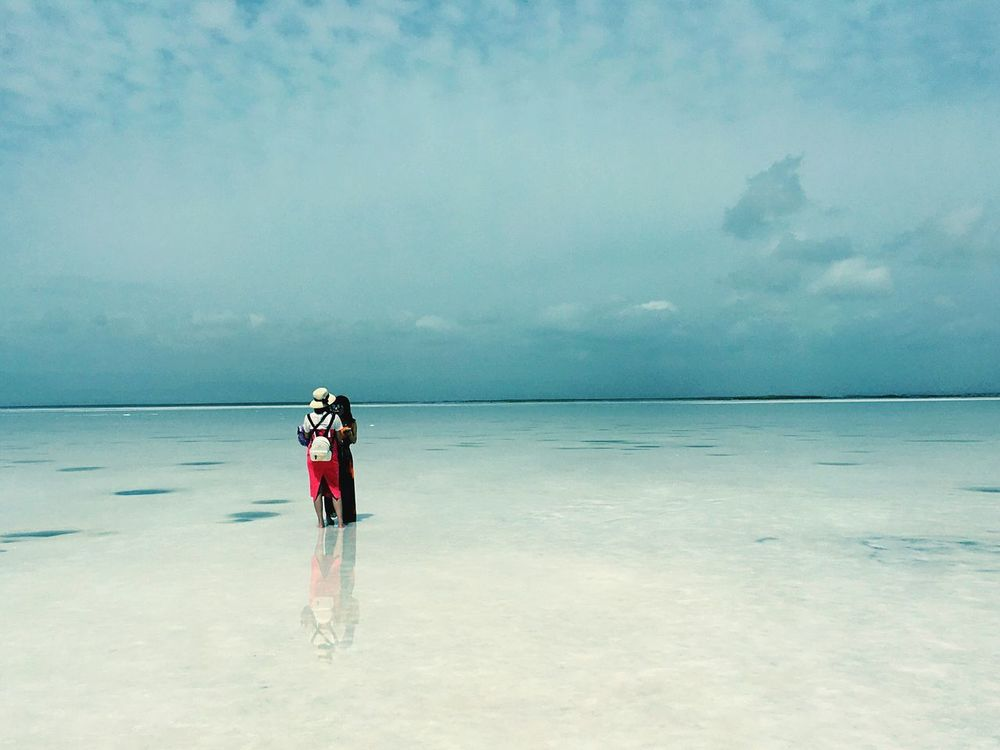 Check This Out Hello World IPhoneography Chaka Qinghai Salt Lake Lake View Reflection