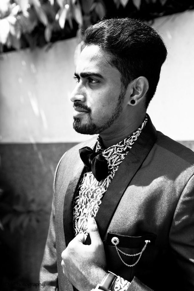 Watches⌚️ Fossil Watch Fossil Highendfashion Suit Day Canon 5D Mark II Portrait Photography Canonphotography Well-dressed Confidence  Filter Confidence  Bold Smart Handsome Bearded Beard Beardman Portrait Men Model Desi Indian Blackandwhite Photography