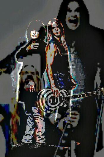 Pixlrapp Ozzy Ozzy Osbourne Mystyle Edit Zakk Wylde No More Tears Ozzfest Rock'n'Roll Heavymetal nothing better than ozzy and zakk!!!!! For you