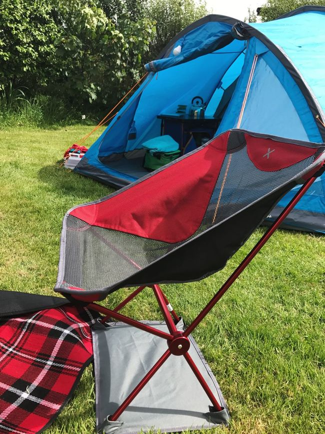 Camp Set Up Camping Outdoors Folding Chair Tent Picnic Rug Open Tent Bank Holiday Weekend! Devon Woodland Spring Touring Park Family Matters Family Time Togetherness Adults Only Lightweight Chair Small And Compact Chair