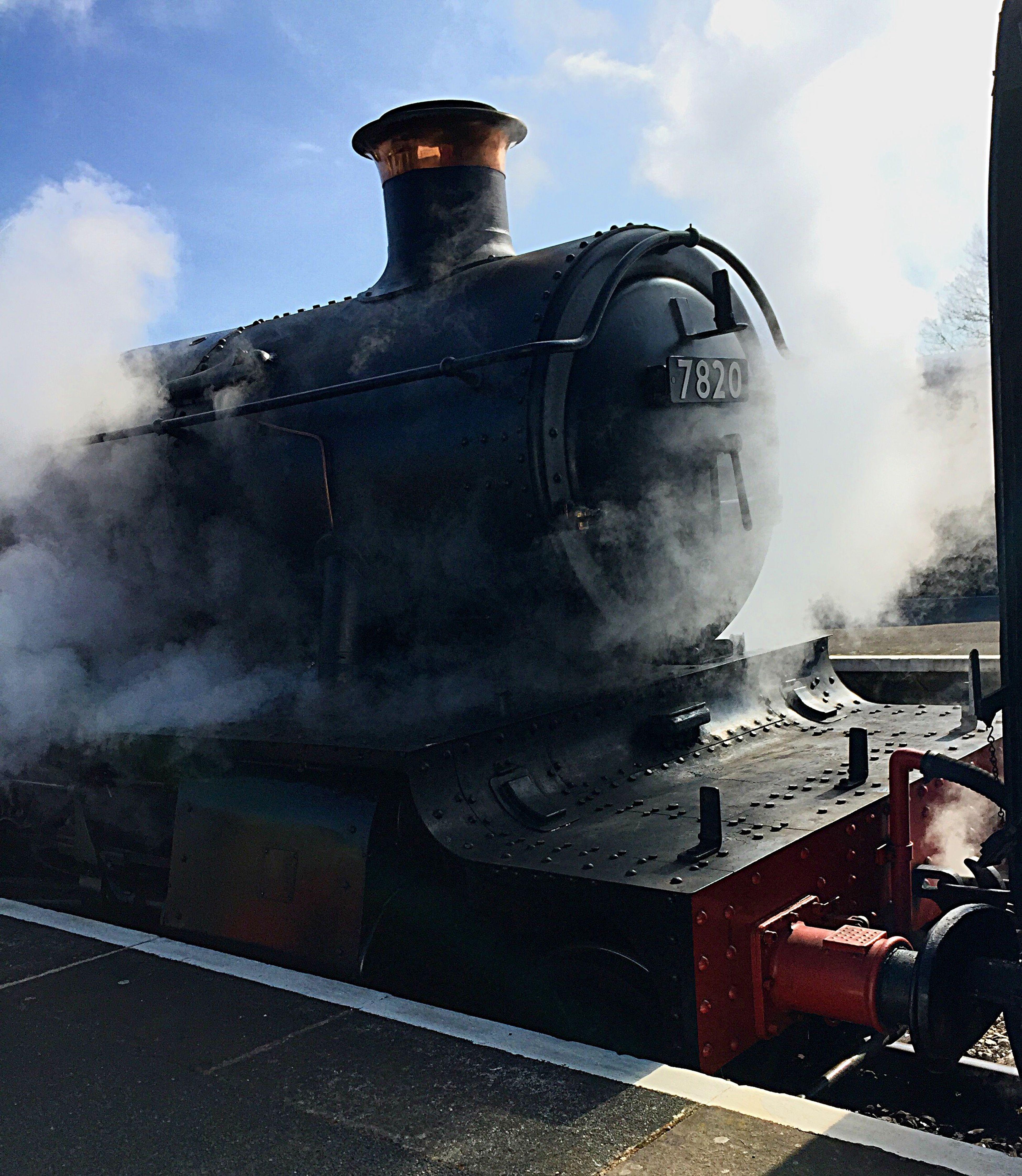 Steam train Train Railway Cotswolds Steam Heritage