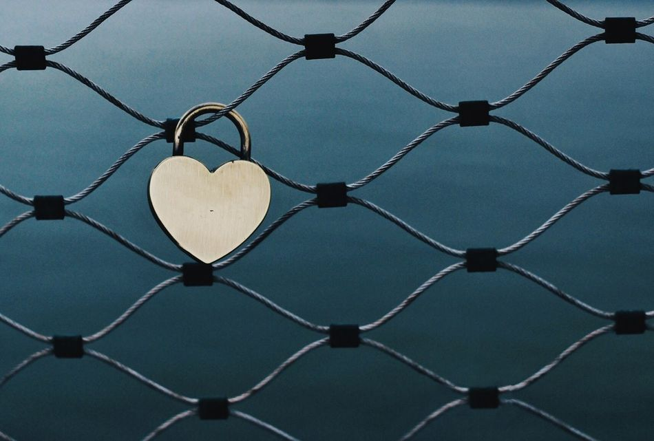 Beautiful stock photos of heart, Backgrounds, Chainlink Fence, Connection, Day