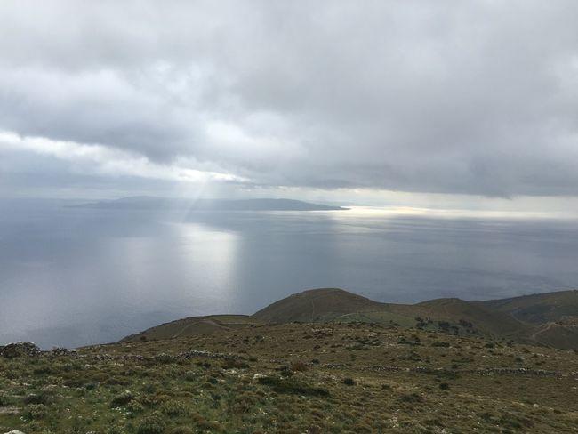 clouds mocking landscape, having a laugh. #axisbynature #cloud Control #greece