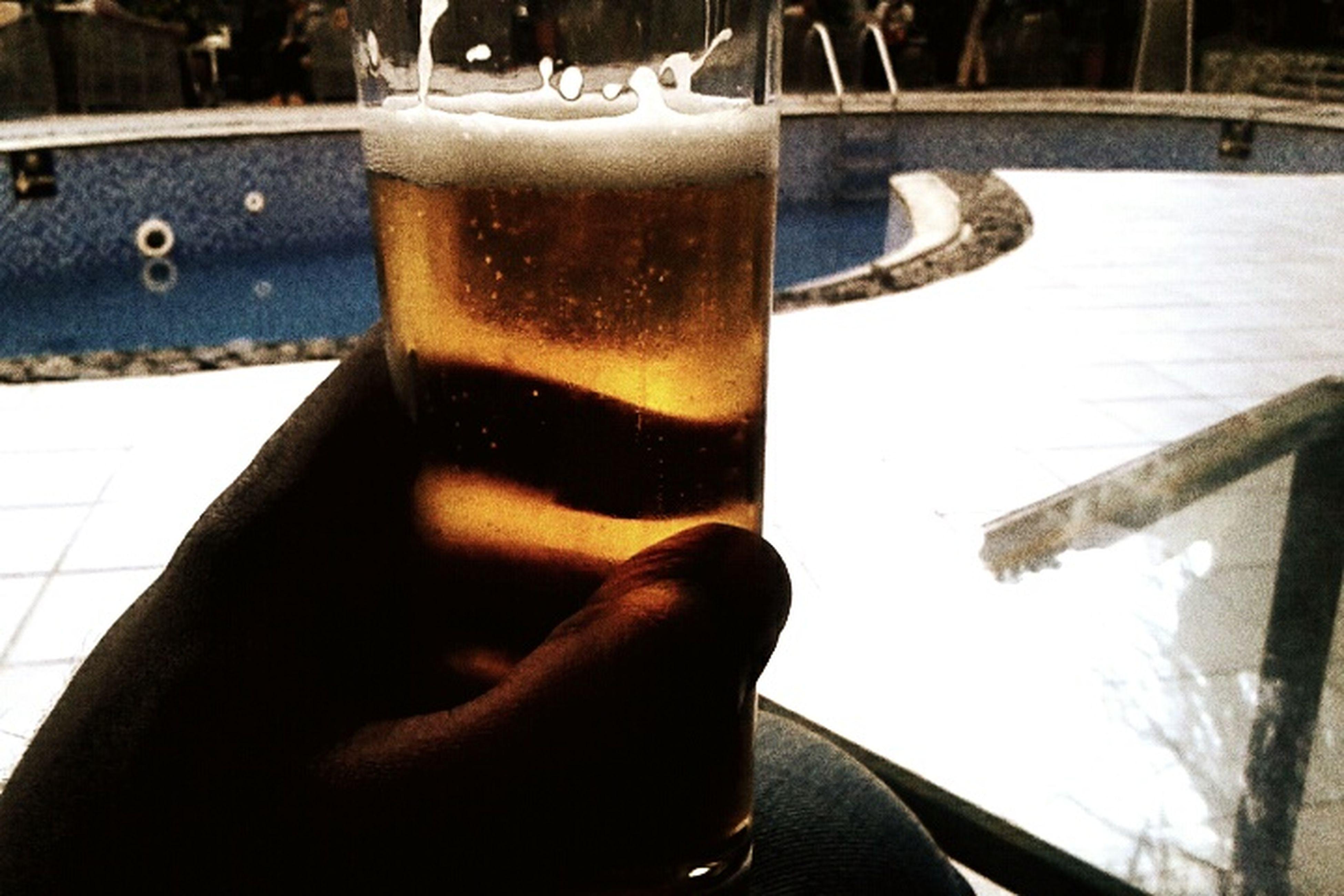 Addis  Ethiopia Beer Pool Side