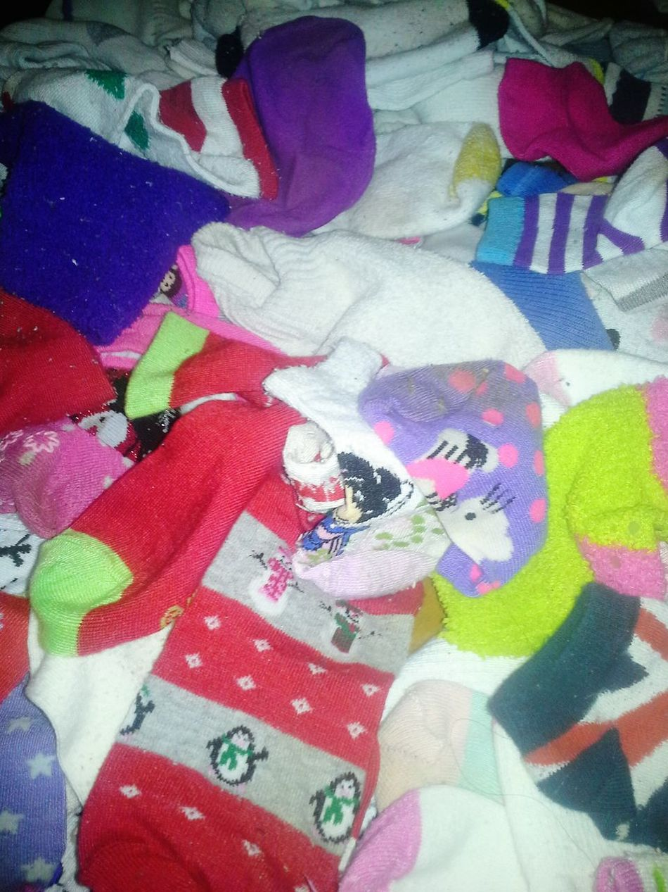 Laundry Day Sorting Socks Childrens Clothing Colorful My Least Favorite Chore Altavista Virginia USA David Tupponce Tupponce Photography What Nightmares Are Made Of