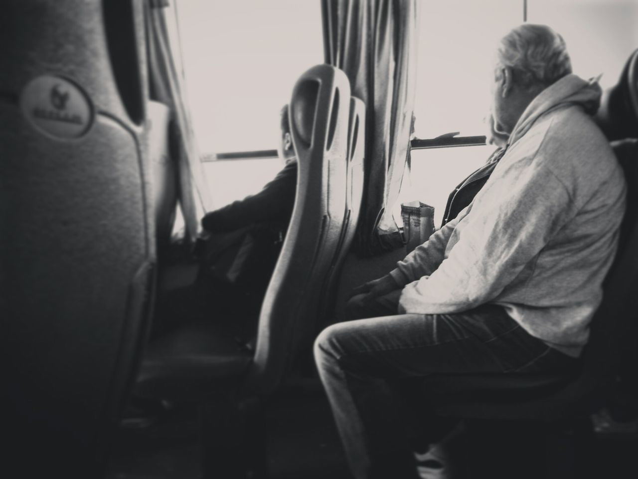 Same ride, same things, it's not like sonething new will appear out of the window, but we still BELIEVEWindow People Sitting Transportation Relaxation Lifestyles Sky Day Simple Alternative Black And White B&w Watch Believe Classic Reflection First Eyeem Photo