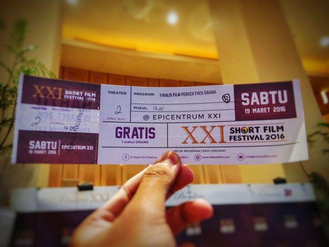Short Film Festival Epicentrum Epiwalk Ticket INDONESIA Jakarta