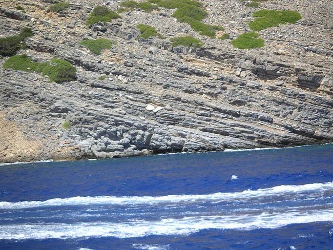 Creta Geece Rock Sea Waves, Ocean, Nature