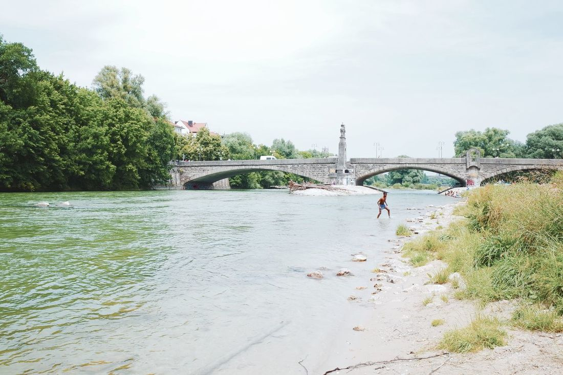 Summer Relaxing Taking Photos Isar River The Street Photographer - 2015 EyeEm Awards München