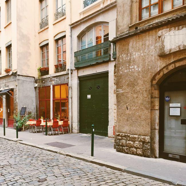 City exploring France Lyon Traveling Walking Around