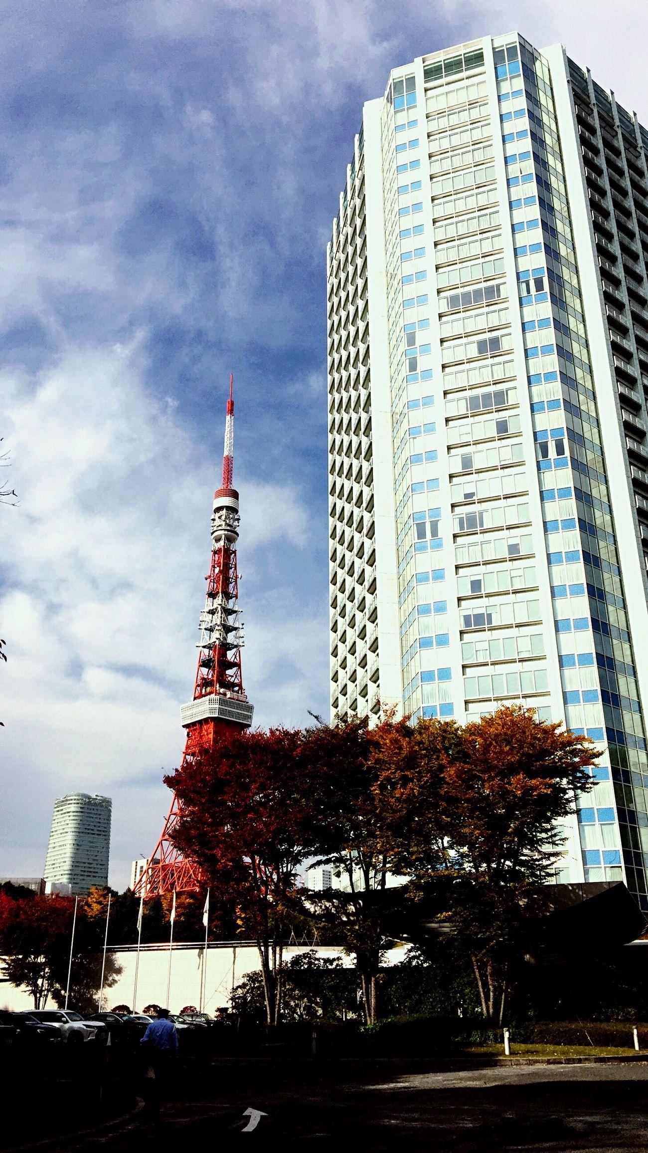 東京タワー Sky City Building Exterior Day Tokyo,Japan