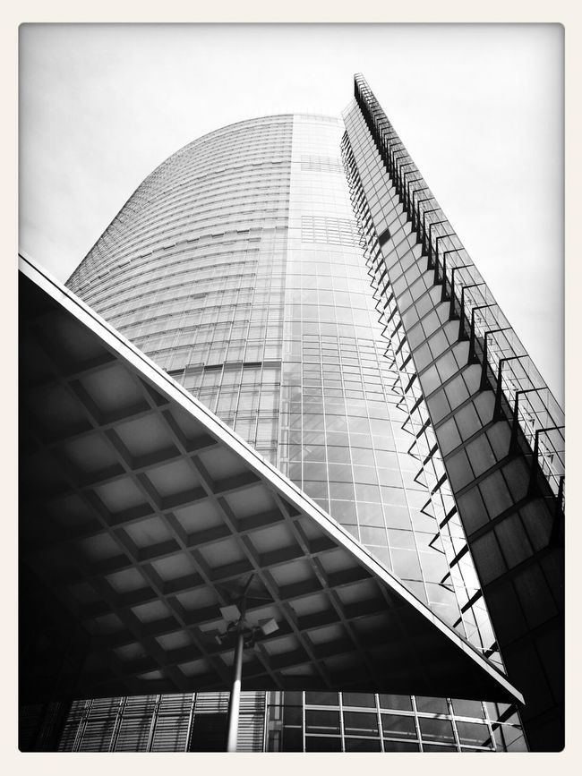 Posttower - Architecture Blackandwhite Mobile Photography Andrography