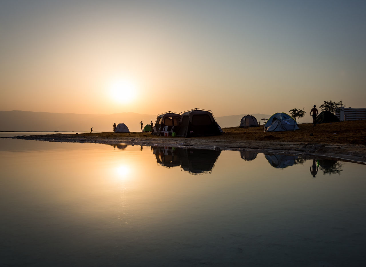 DeadSea Sunrise Camping Deadsea Enjoy The New Normal EyeEm Team Israel Nature Outdoors Reflection Reflection Reflection_collection Reflections Reflections In The Water Shillouette Sunlight Sunrise Sunrise_Collection Sunset Tadaa Community Tent Traveling Water Water Reflections Chance Encounters My Year My View