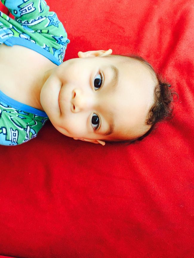 Curiosity Cheese! Portrait Babyboy Infant Child Kid Boy Hanging Out Relaxing Youth Multiracial Beauty  Beauty Natural