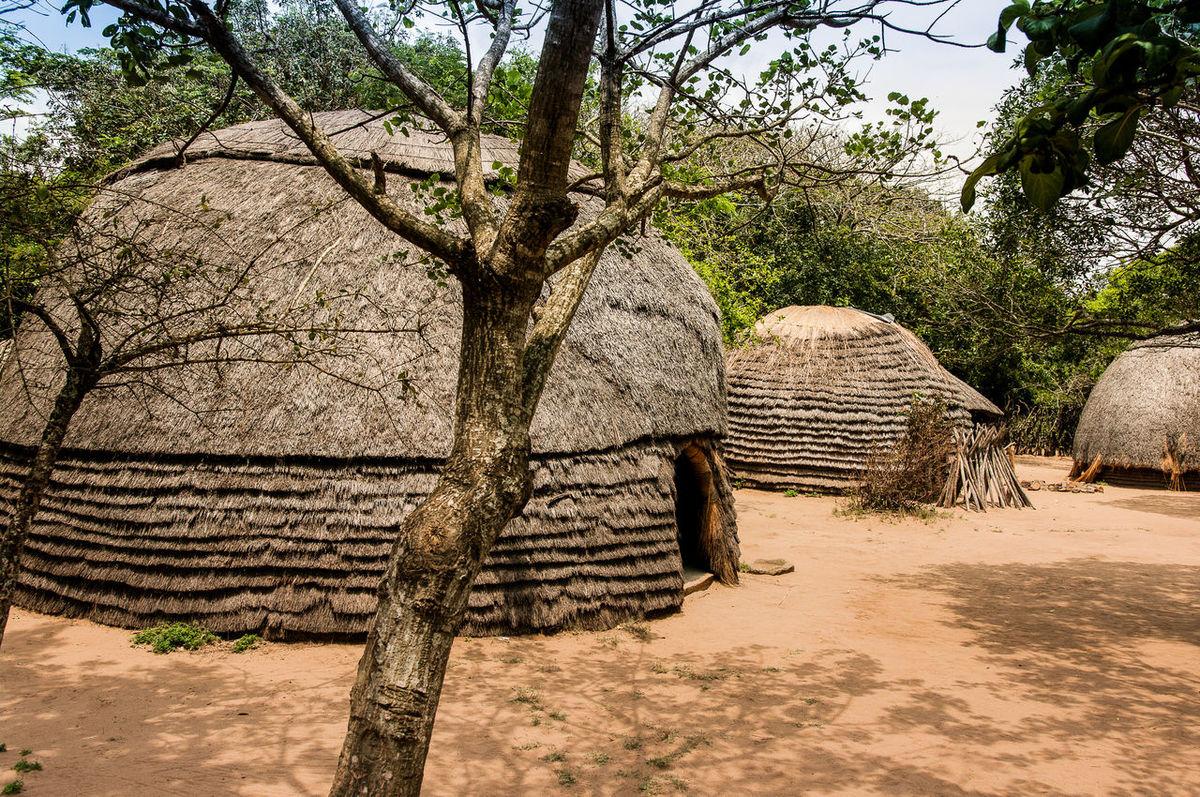 Rondavel Africa Building History Hütte Living Old Buildings Rondavel South Africa Village