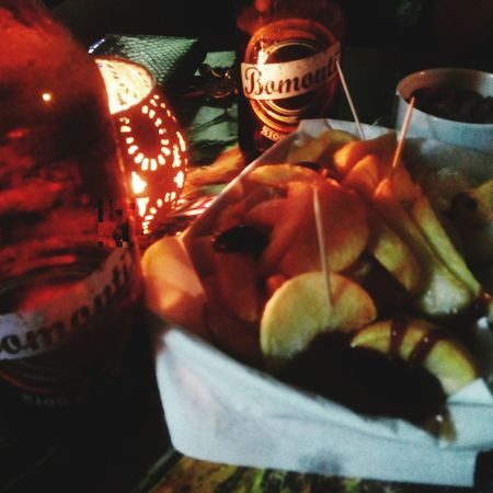 Drinking Beer Chilling Bar Cips Bestchoice Sundaynight Bomonti