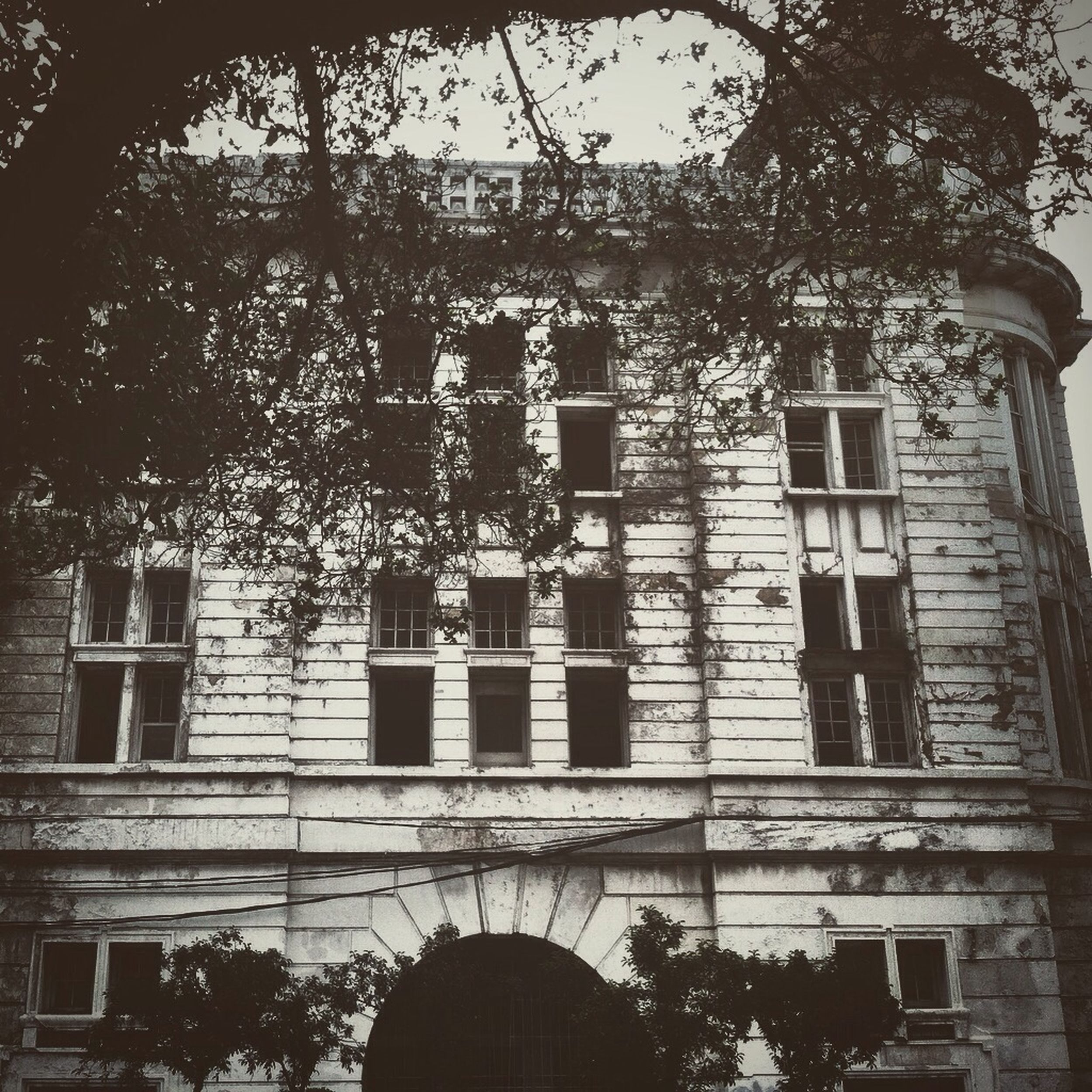 Streetphotography Blackandwhite Building School Flow
