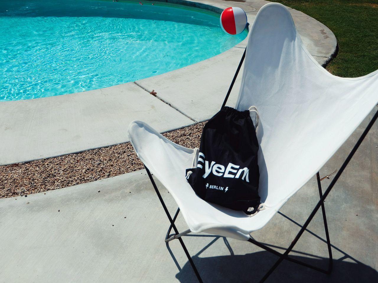 Hello EyeEm ! Summer Poolside Enjoying Life Water Blue Simplicity California