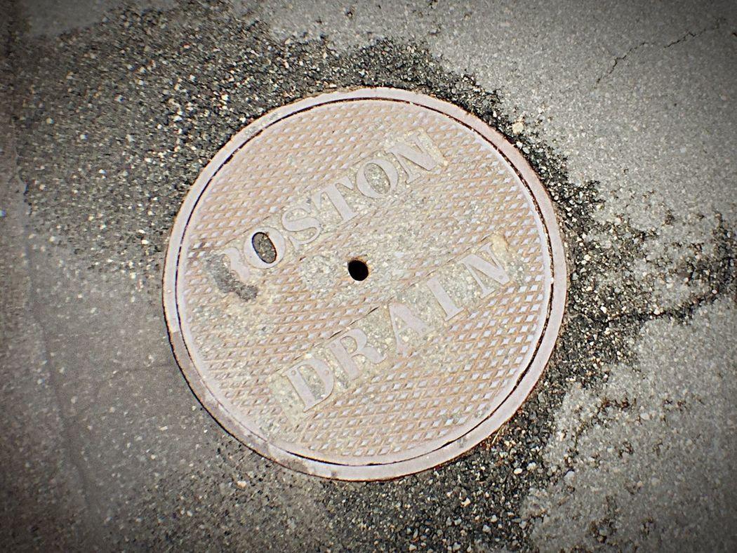 Where Dreams Go Road Close-up Manhole  Circle Asphalt Street Outdoors Geometric Shape No People Drain IPhoneography Iphone 6 Plus IPhone 6+
