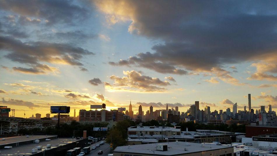 Magestic Sunset over my City Spetacular Longislandcity