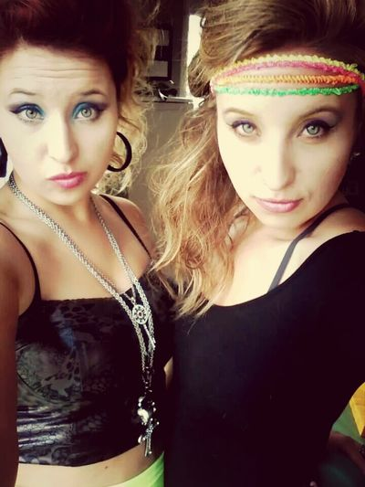 twin sister 80s party