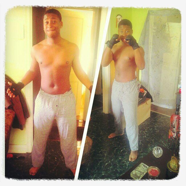 Football & MMA Training Payin Off!! Feelin Myself